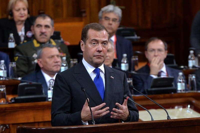 Medvedev u Beogradu poruèio: Ovo je jedini oblik sporazuma koji æemo podržati!