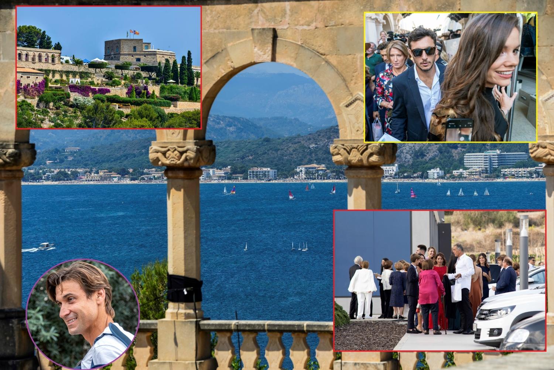 Sve bilo kao iz bajke, Nadal i Æiska se zakleli na veènu ljubav u najskupljem dvorcu u Evropi! (FOTO/VIDEO)