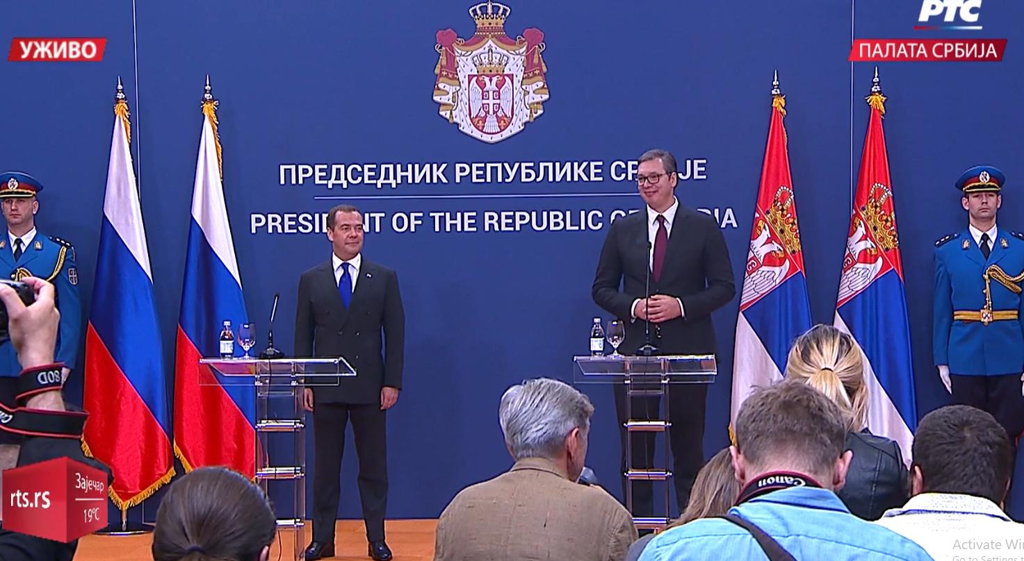 Predsednik Srbije: Hvala Rusiji što poštuje celovitost Srbije! (FOTO)