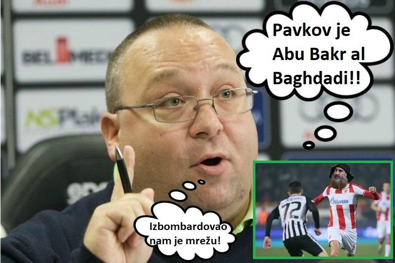Potpredsednik Partizana šokirao sve na Tviteru: