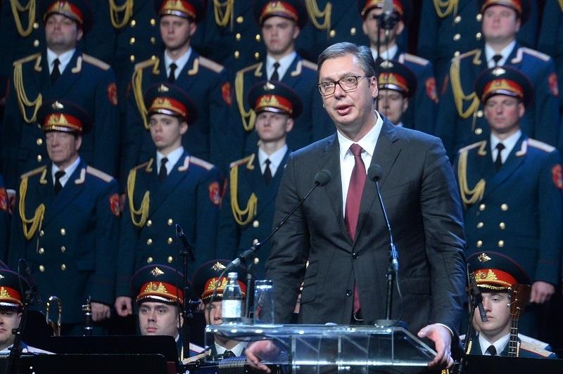 Predsednik Srbije: Slobodan je samo onaj koji sam odluèuje o svom putu (FOTO)