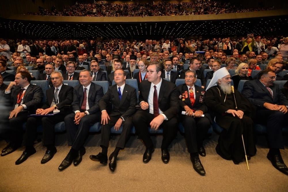 Dmitrij Medvedev, Aleksandar Vučić