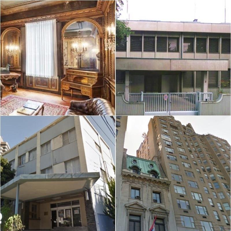 Srbiji pripalo 36 ambasada! Jedna od najskupljih rezidencija na svetu u našem vlasništvu, zdanje koje vredi više od 40 miliona evra!