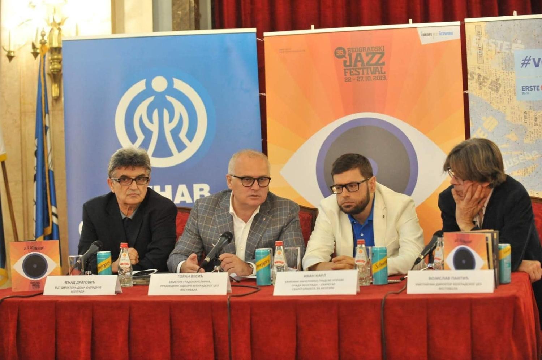 Poèinje jubilarni 35.Beogradski džez festival, jedan od koncerata u Novom Sadu