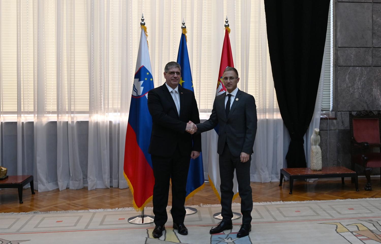 Stefanoviæ razgovarao sa ministrom unutrašnjih poslova Slovenije Boštjanom Poklukarom