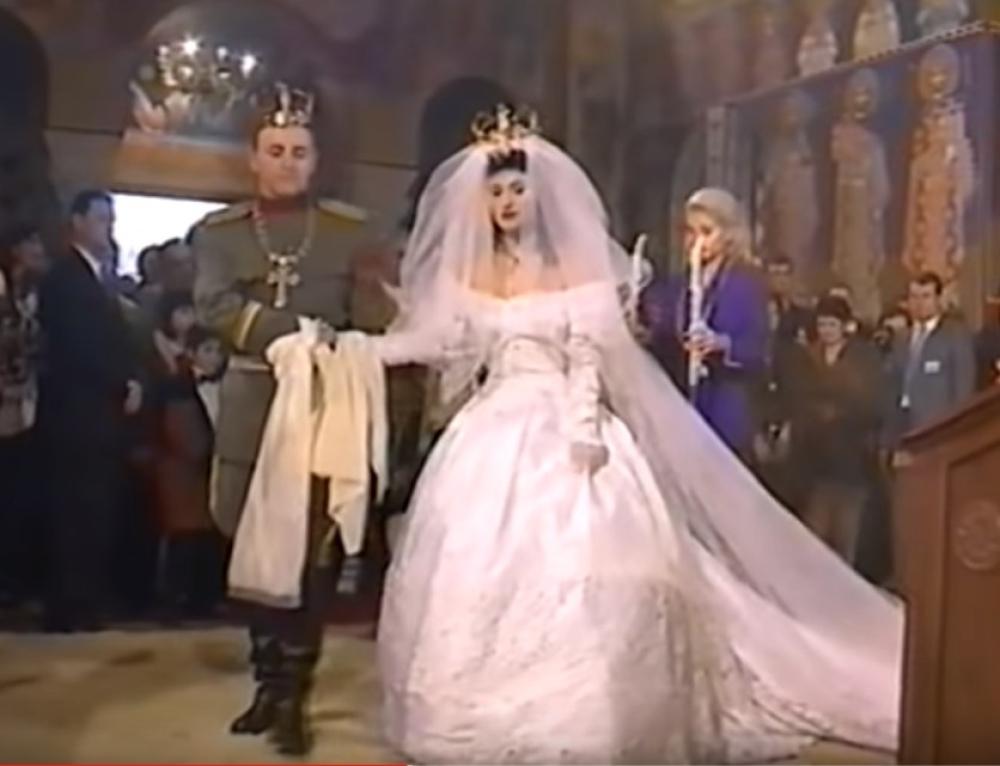 Ceca i Arkan, venčanje