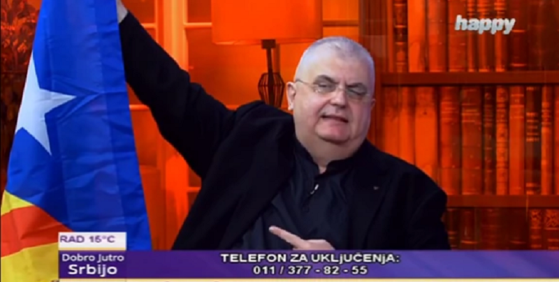 Èanak divljao u Jutarnjem programu, Mariæ ga gledao zbunjeno: Kosovo nije deo Srbije!