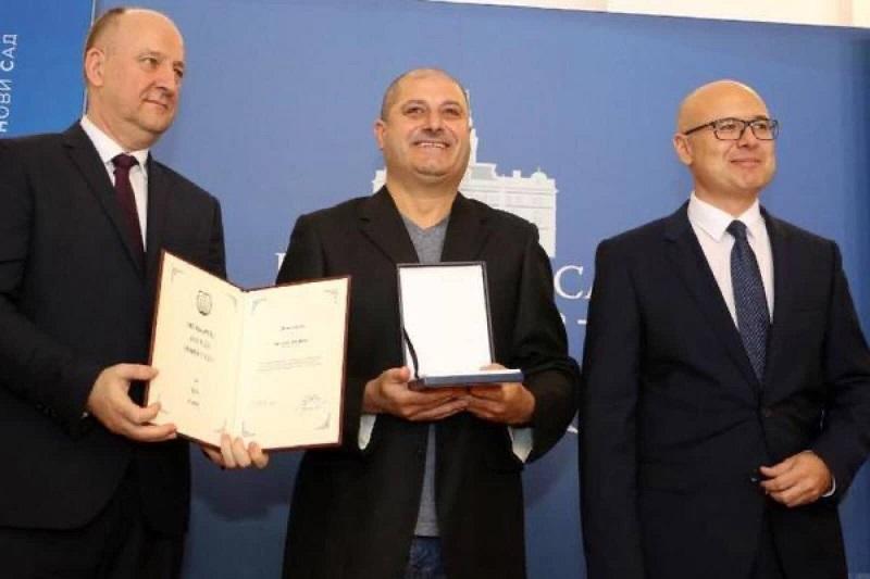 Voða grupe Lovehanters dobio oktobarsku nagradu grada NS