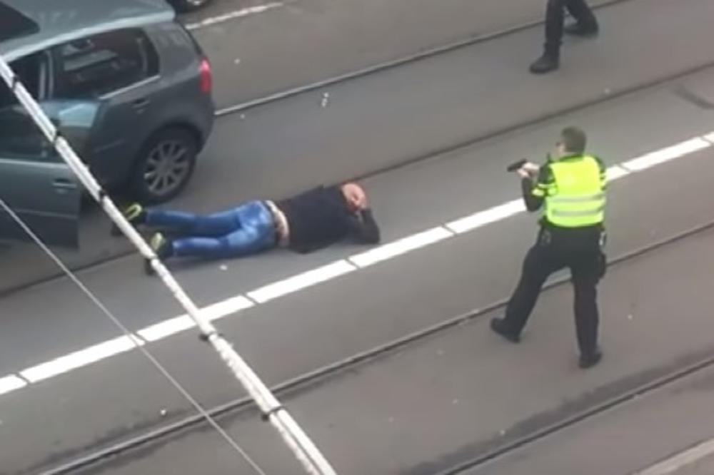 Policija zaustavila sumnjiva kola, ispalila hitac, a onda je nastala neviðena drama! (VIDEO)