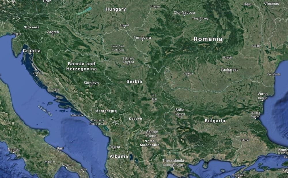 I Ova Karta Se Nalazi U Udzbenicima Na Mapi Nema Srbije A