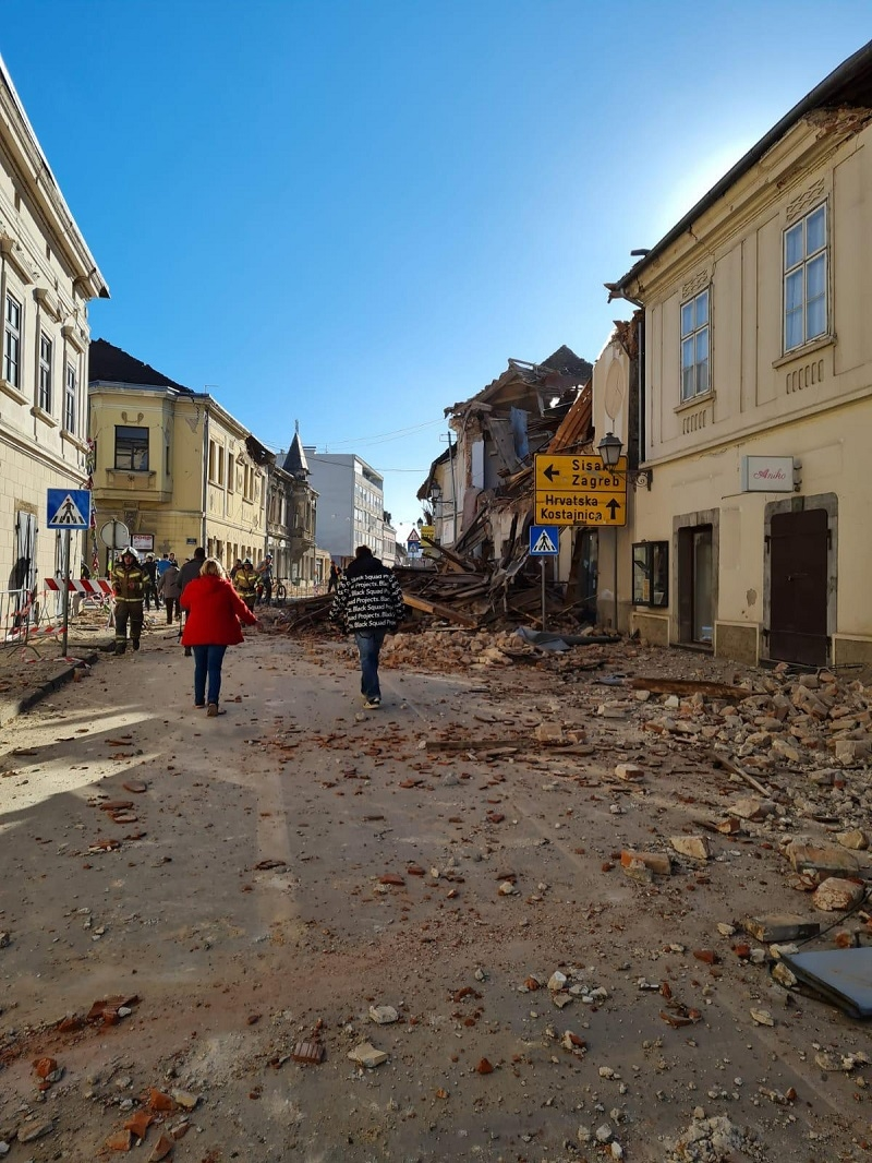 """Kontejnerski grad"" u Petrinji posle zemljotresa: Prvi stanovnici već sledeće nedelje"