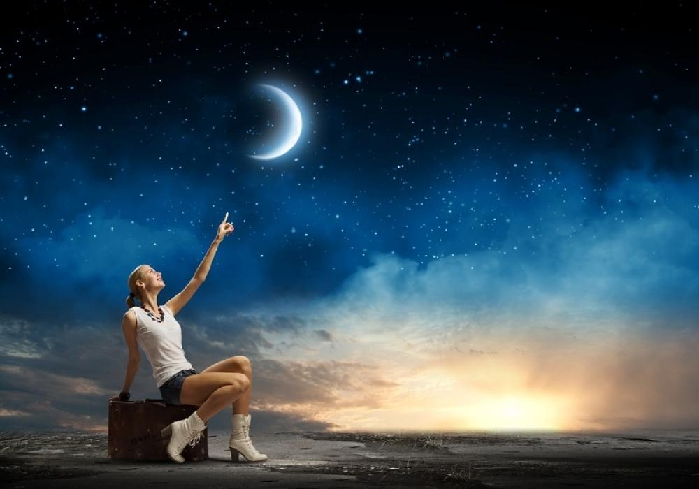 horoskop, priroda, mlad mesec