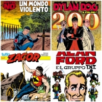 strip, Dilan Dog, Zagor, Alen Ford