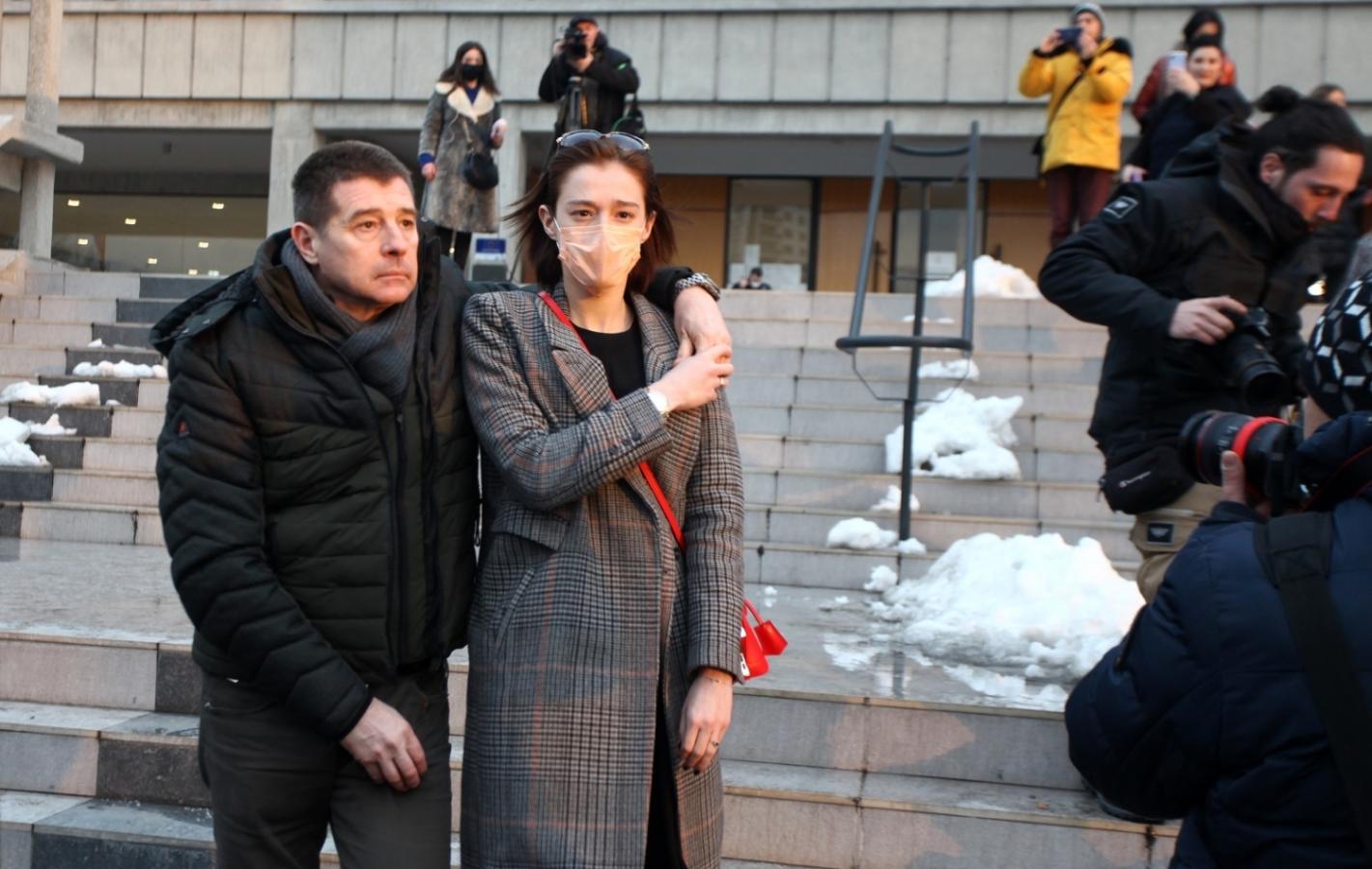 Milena Radulović sa ocem