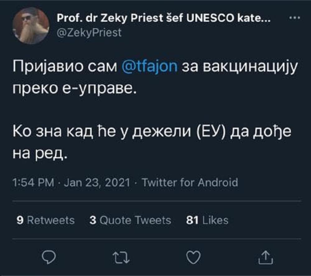 Tanja Fajon, vakcina