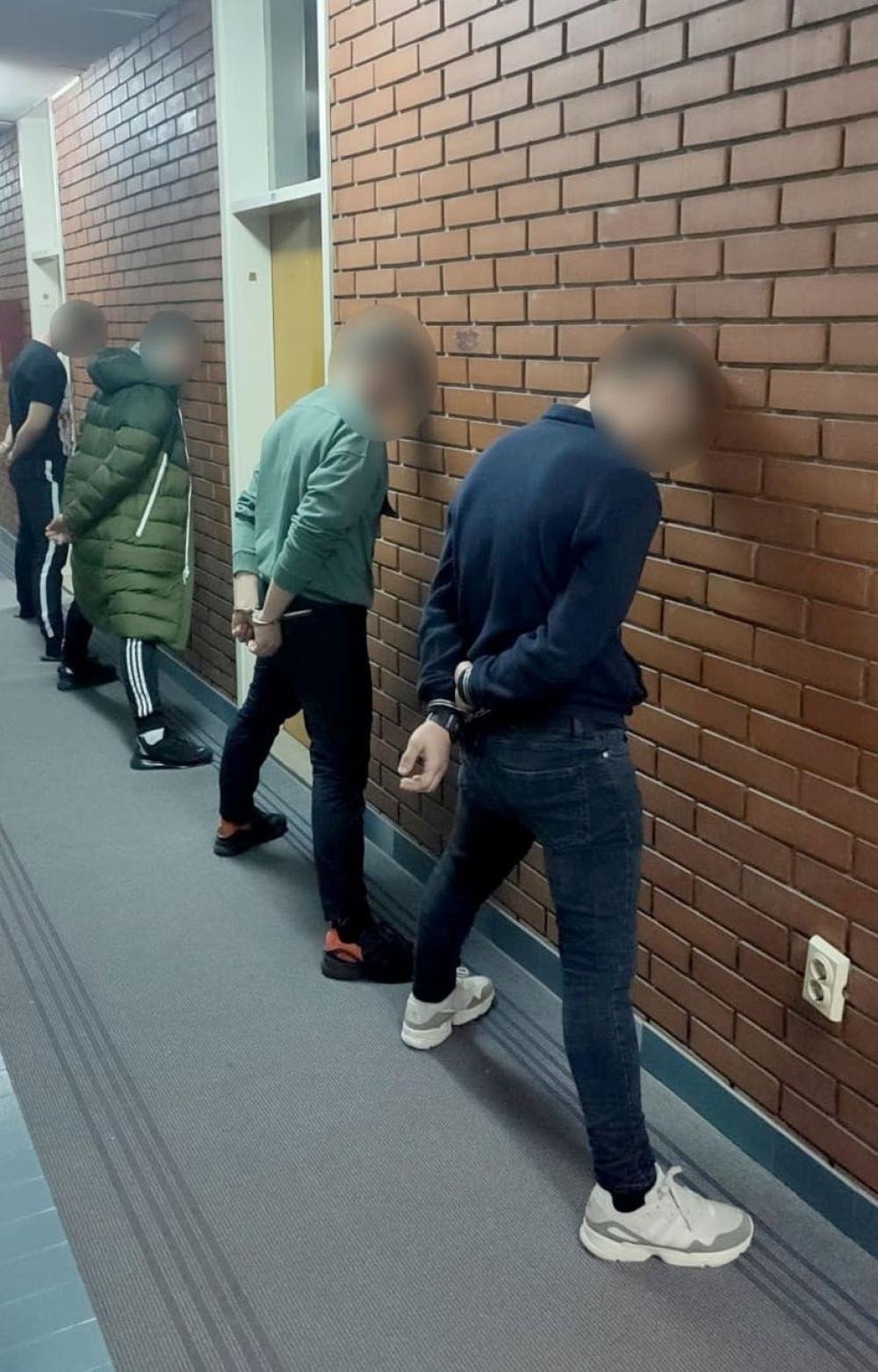 Hapšenje u Novom Sadu