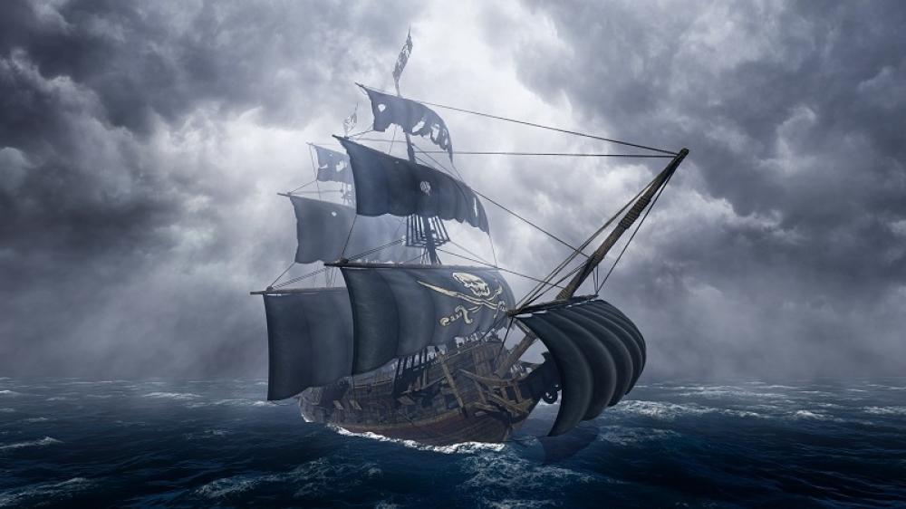 piratski brod, brod
