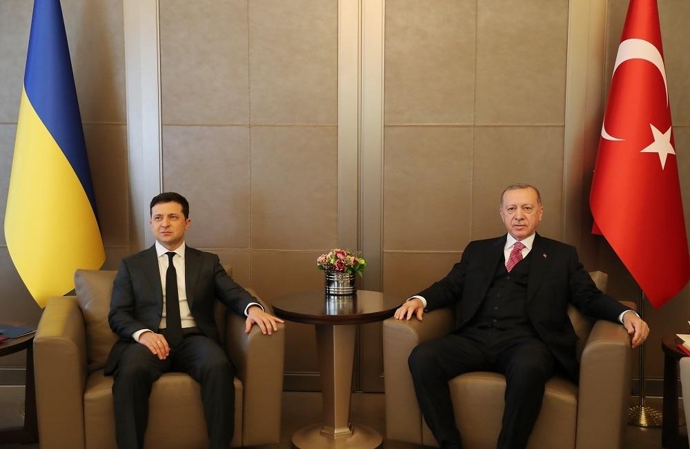 Vladimir Zelenski i Redžep Tajip Erdogan
